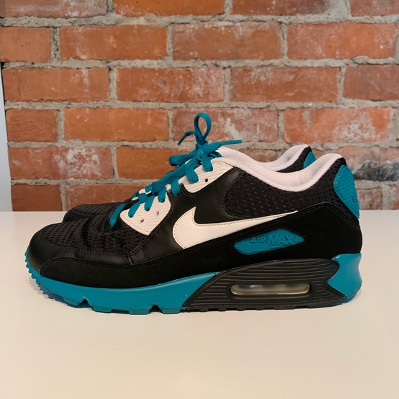 competitive price a3957 fdc89 Air Max 90 OG Black & Teal Mens 11.5